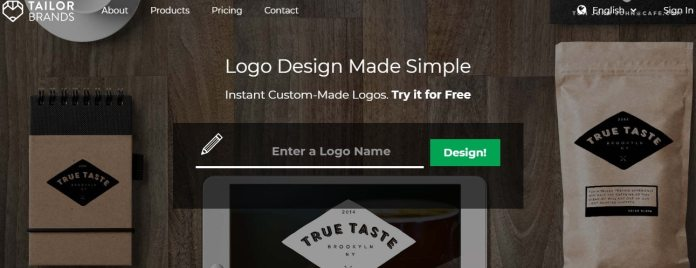 Tailor Brands - great logo creating tool