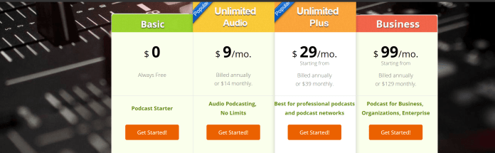 podbean free coupon code - Podbean Plans and Pricing