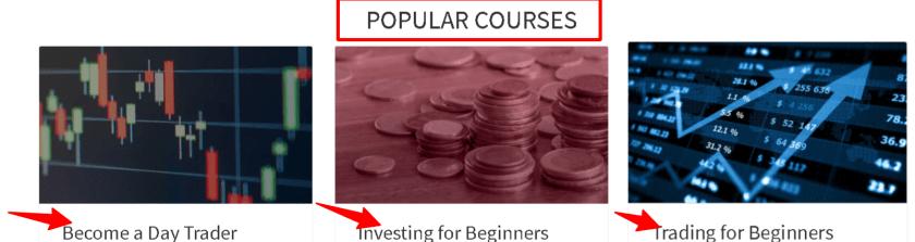 Investopedia Academy - Popular cources
