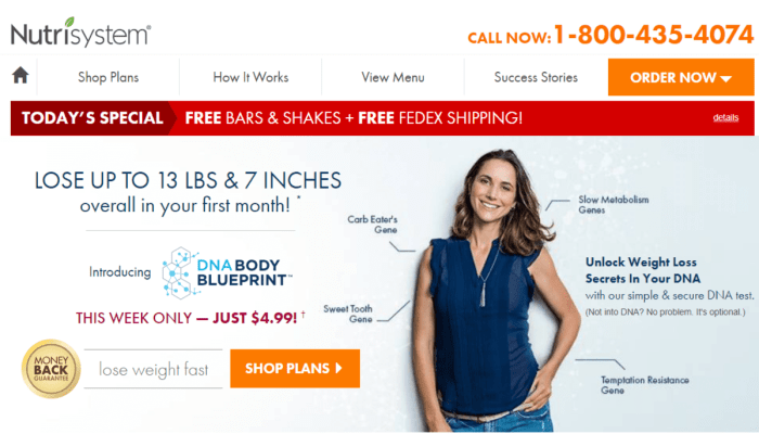 [Updated September 2018] Nutrisystem Coupon Codes: Get Exclusive 50% Off Now