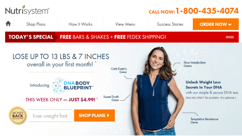 Nutrisystem Coupon Codes- The Best Nutrition