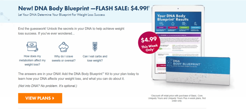 Nutrisystem Coupon Codes- The DNA Plan