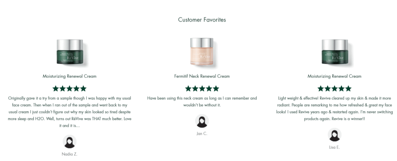 ReVive Skin Care Coupon Codes- Customer Favourite Products