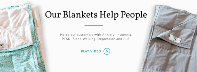 Weighting Comforts Coupon Codes- Blanket That Help People