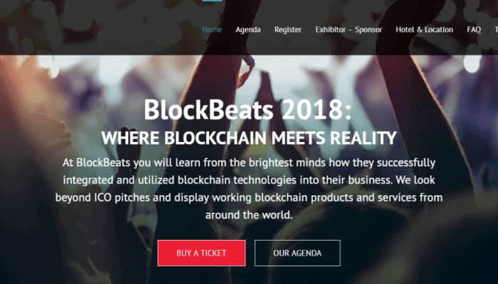 Meet the Reality Of The Blockchain at BlockBeats 2018