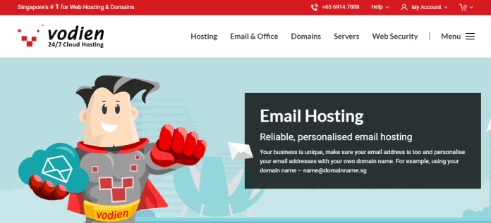 Email Hosting Business - Vodien