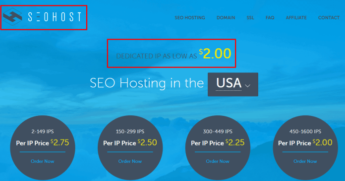 SEO Hosting In The USA With Multiple Class C IP s