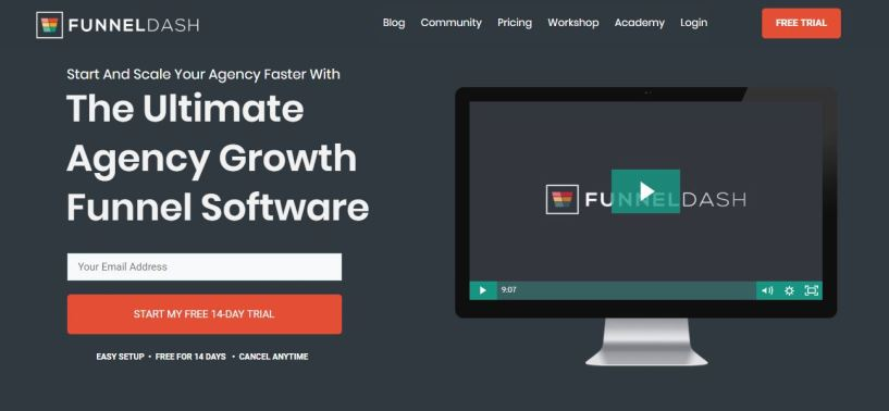 FunnelDash-Review-coupon-home-page