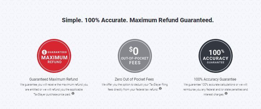 TaxSlayer-home-page-refund