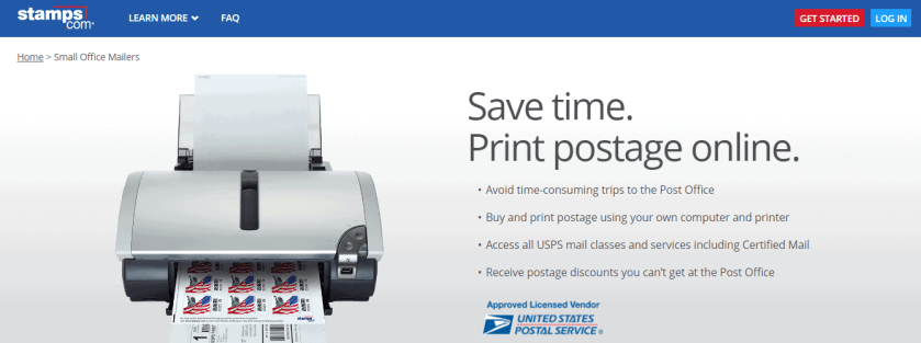 Stamps.com Review With Coupon Codes -Small Office Mailers