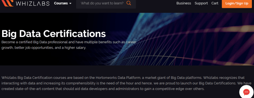 Whizlabs Discount Code - Big Data Certification