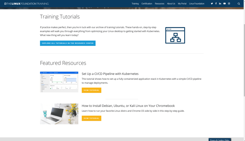 Tutorials for Linux Foundation