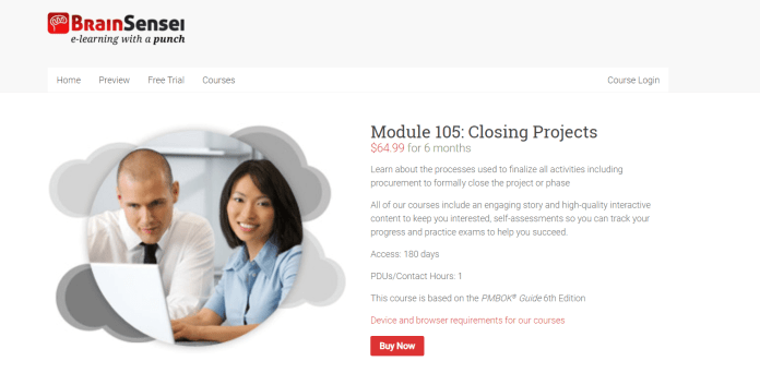 Brain Sensei Courses Review- Module 105 Closing Projects