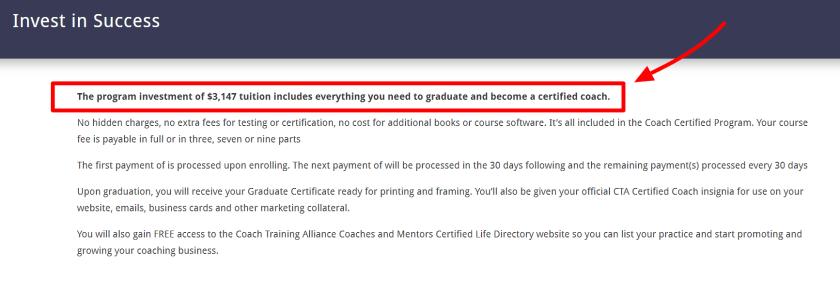 Certified Coach Program