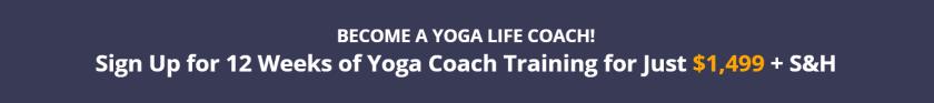 Yoga Life Coaching Pricing