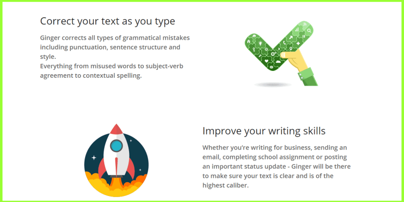 Ginger Software Coupon & Review- English Grammar Writing App
