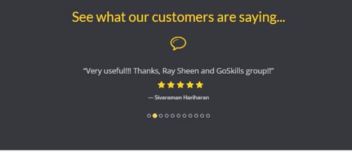 GoSkills Coupon Codes- Costumer Review