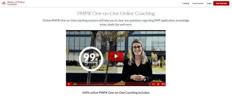 Master of Project Academy Coupon Codes- PMP® One on One Coaching