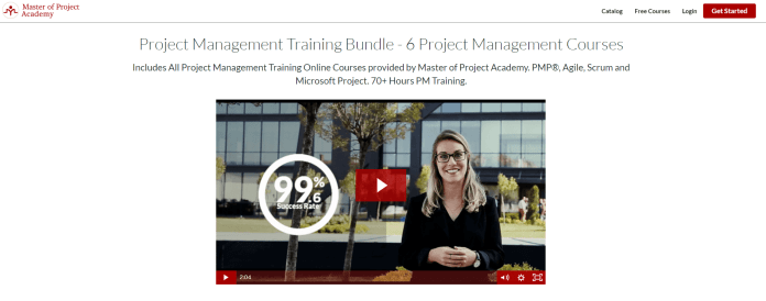 Master of Project Academy Coupon Codes- Project Management Training Online Bundle