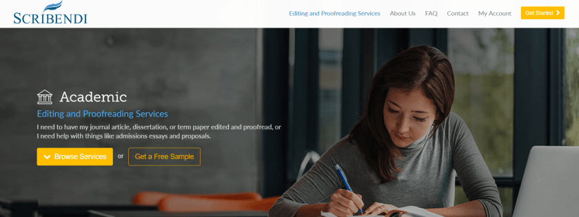 Scribendi Review- Academic