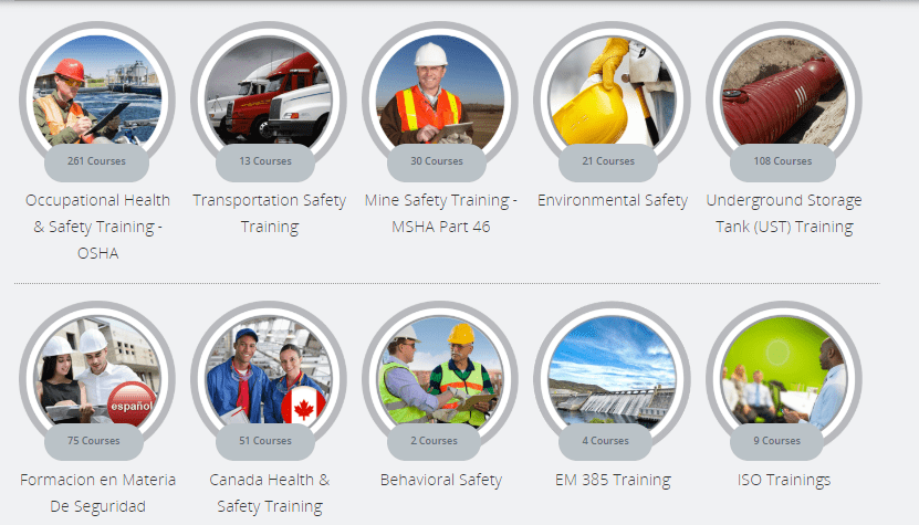 Online Environmental Health & Safety Training courses