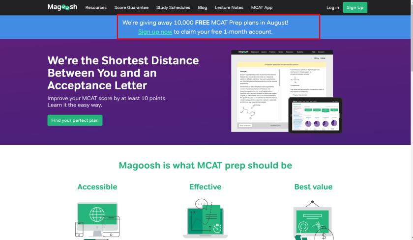 Magoosh MCAT - Latest Discount
