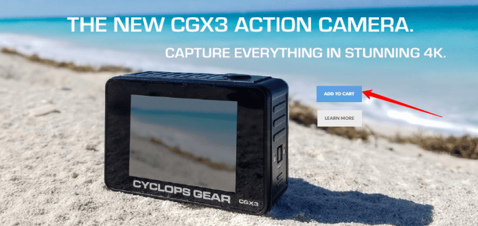 CyclopsGear - Coupon - The New CGX3 Action Camera