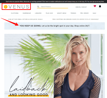 Venus Coupon Code