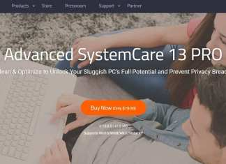 Advanced SystemCare Pro Review Homepage