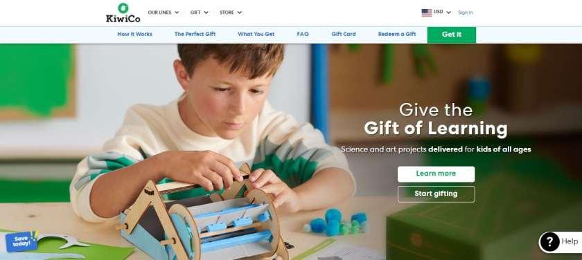 KiwiCo Gift Of Learning