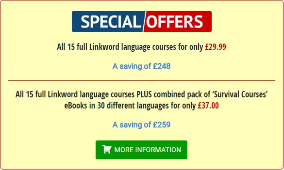 Linkword Languages Special Offers