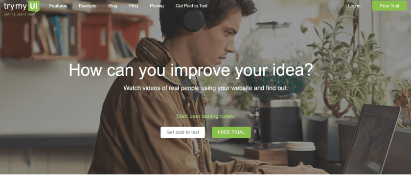 TryMyUI review home -improve your idea