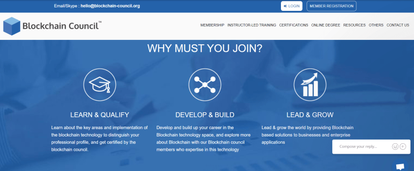 Why to join Blockchain Council