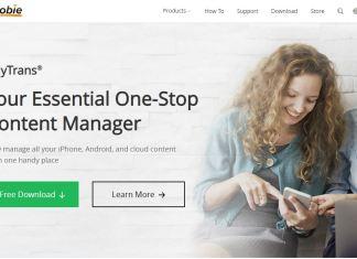 iMobie Review Landing Page