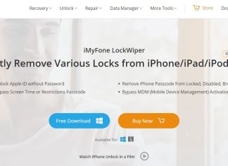 iMyFone LockWiper Review Homepage