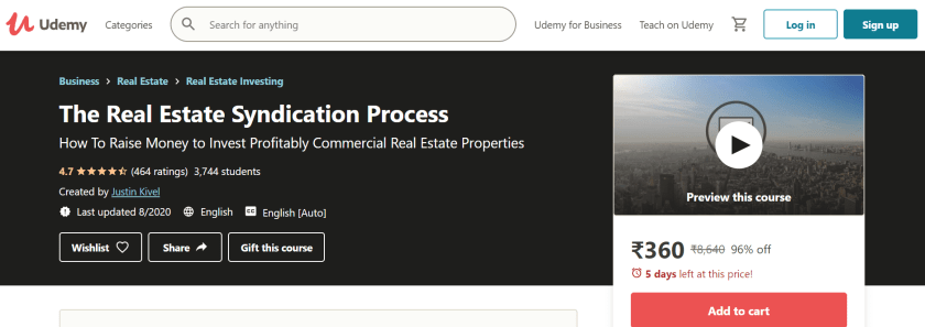 Real Estate Syndication Process