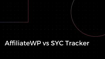 AffiliateWP vs SYC Tracker