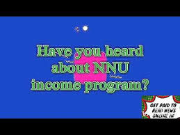 WHY YOU MUST JOIN NNU INCOME PROGRAM IN 2019