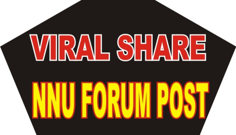 HOW TO VIRAL SHARE NNU FORUM POST TO FACEBOOK TIMELINE
