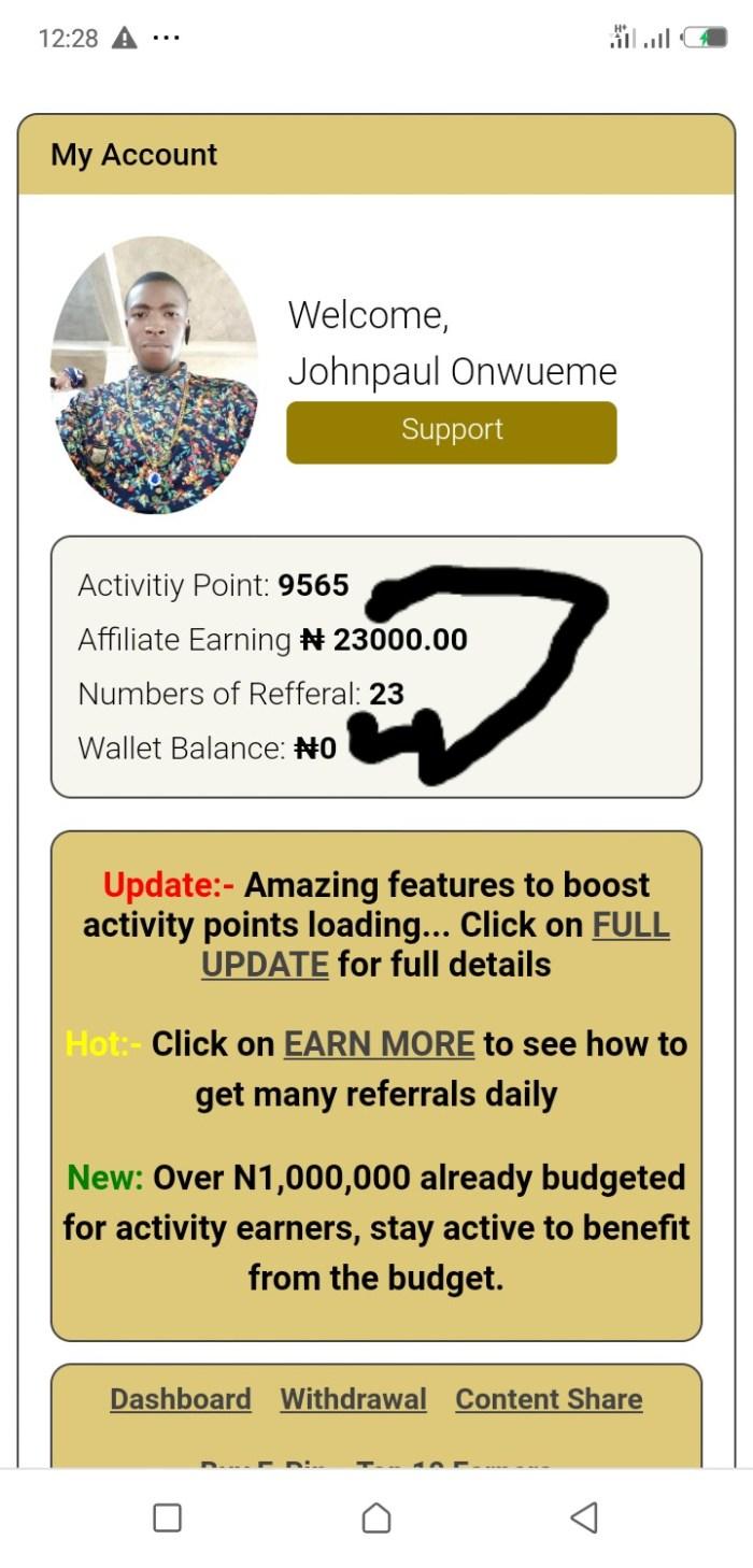 TBD income program