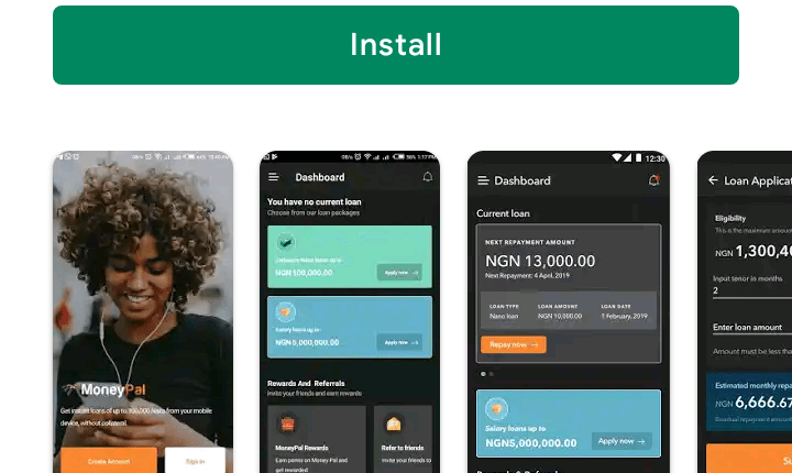 Moneypal Loan App By Zedvance: Get Instant Loan Up To N5M Naira