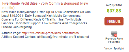 ClickBank - Vendor & Affiliate Pages