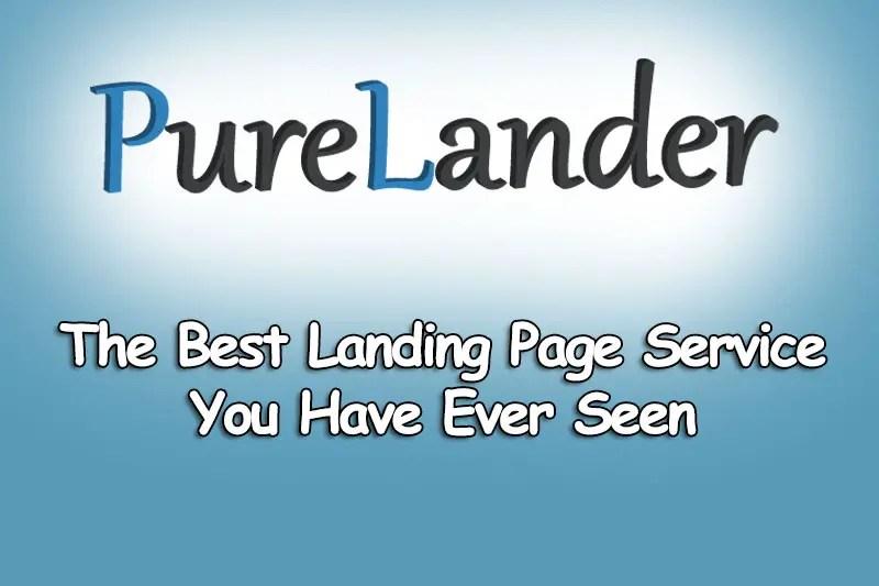 PureLander Review – Landing Page Service