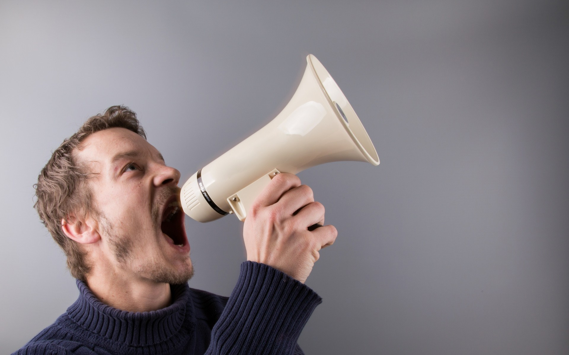 megaphone guy