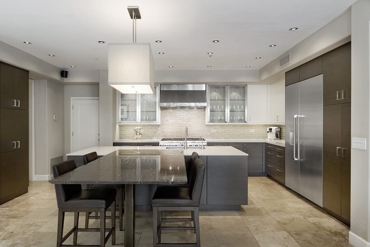 Gathering Space for Family: A Modern Kitchen Before ... on Modern Kitchens  id=12005