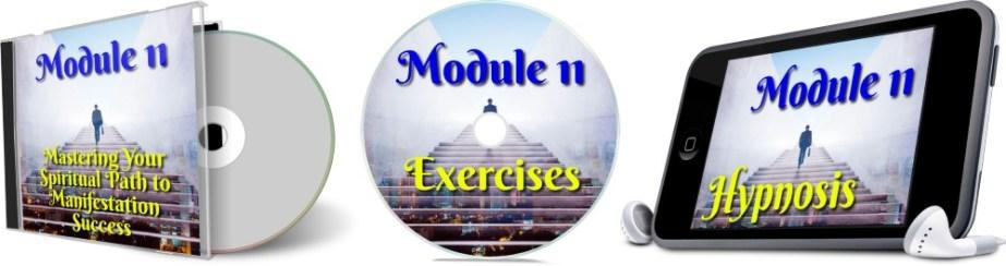 11 Days To Manifestation Mastery Program + 5 Free Bonuses  Image of module 11 combined