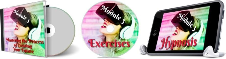 11 Days To Manifestation Mastery Program + 5 Free Bonuses  Image of module 3 combined