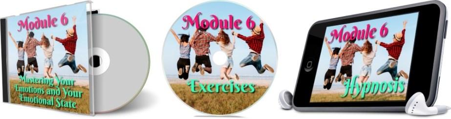 11 Days To Manifestation Mastery Program + 5 Free Bonuses  Image of module 6 combined