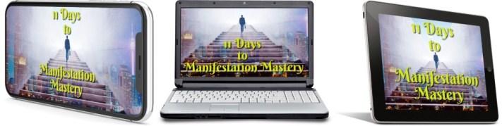 11 Days To Manifestation Mastery Program + 5 Free Bonuses  Image of 11 days combined version one