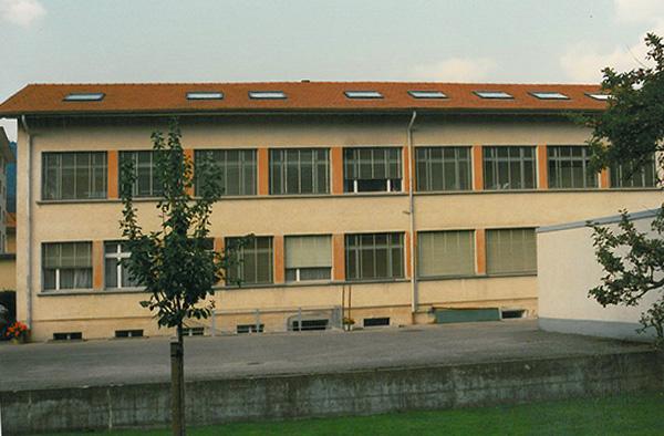 bâtiment industriel à la rue du Pont 7 à Malleray.